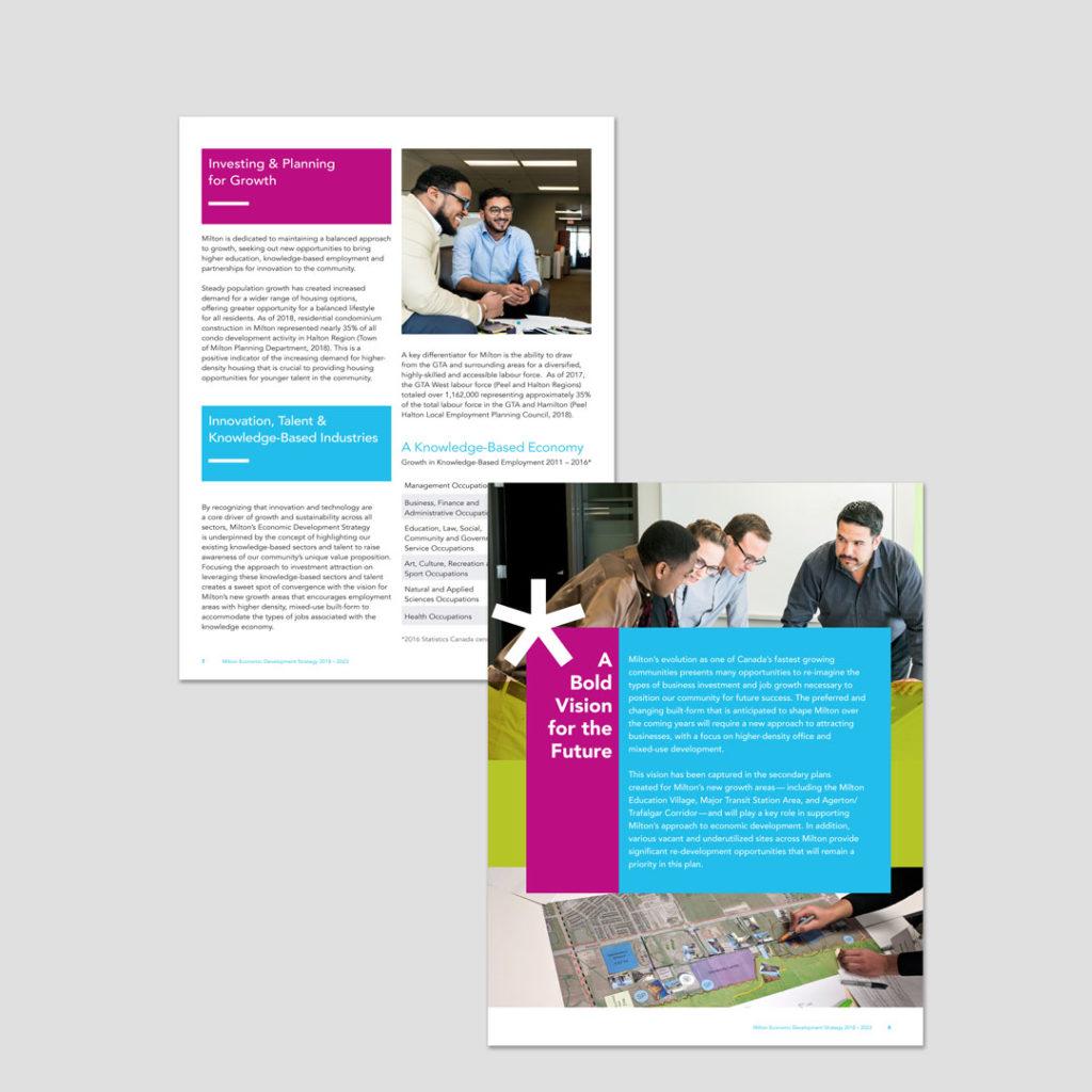Milton Economic Development Strategy Design
