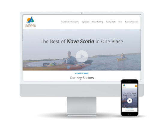Invest Chester website design