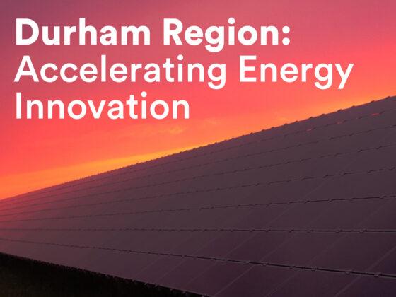 Durham Region Economic Development Content Cover Design